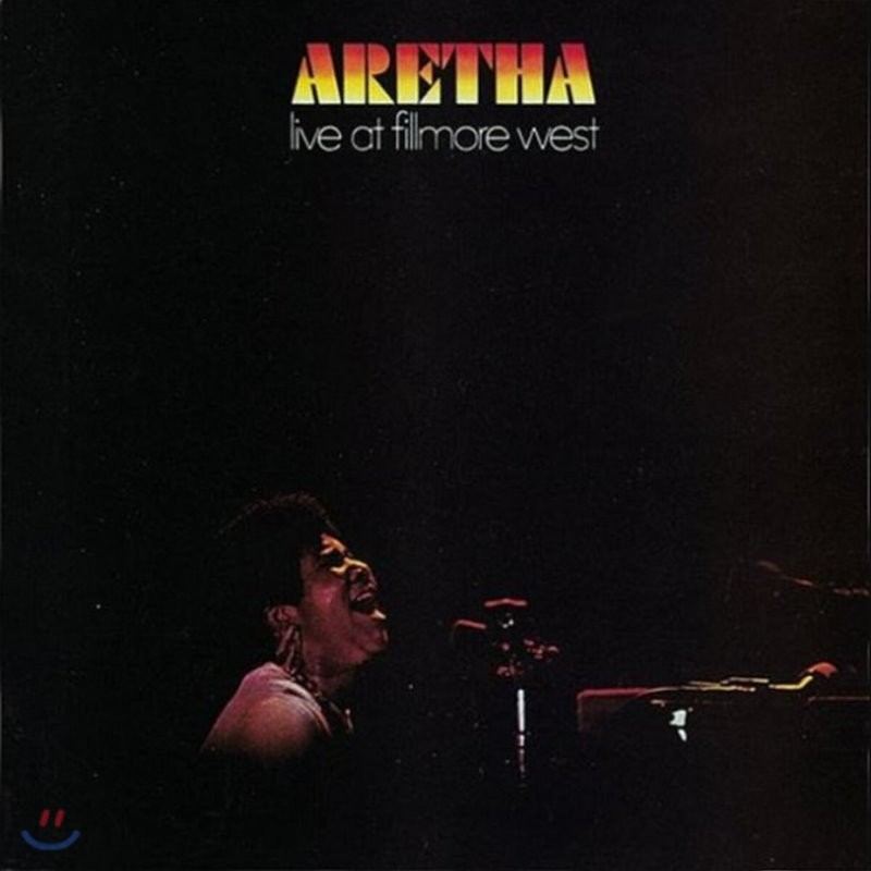 Aretha Franklin (아레사 프랭클린) - Live At Fillmore West [LP]