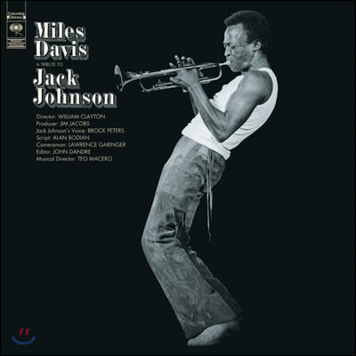 Miles Davis (마일즈 데이비스) - A Tribute To Jack Johnson [LP]