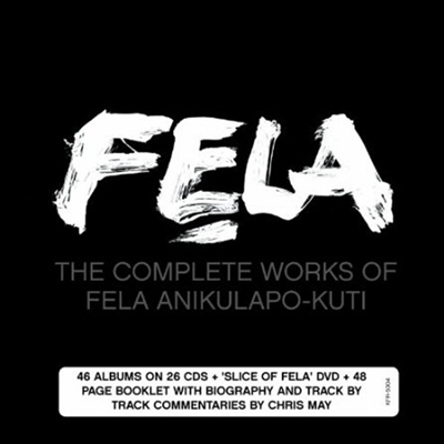 Fela Kuti - Complete Works (Remastered)(26CD+DVD Box set)