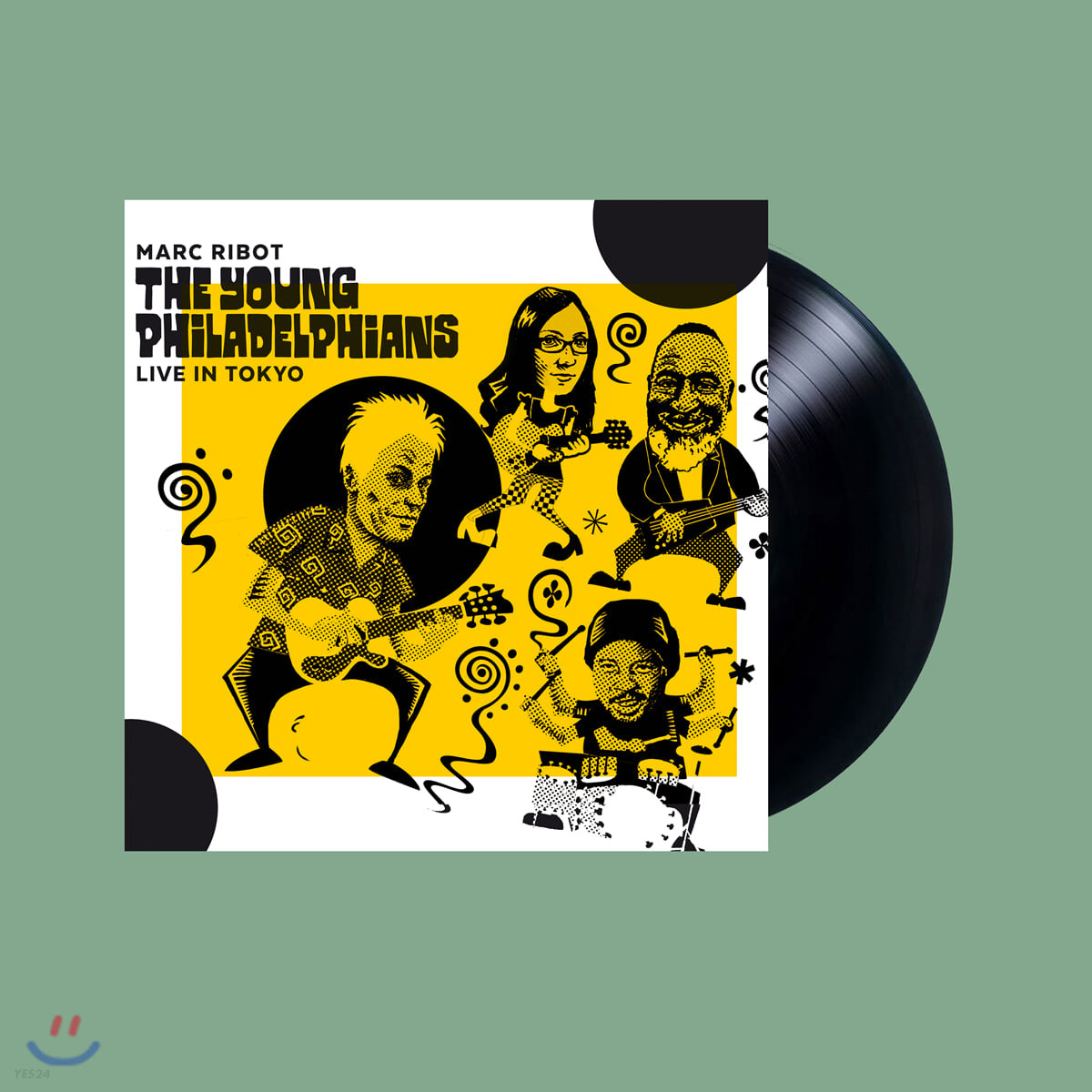 Marc Ribot (마크 리봇) - The Young Philadelpians: Live in Tokyo [LP]