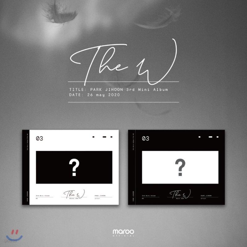 박지훈 - 미니앨범 3집 : The W [Noir ver.]