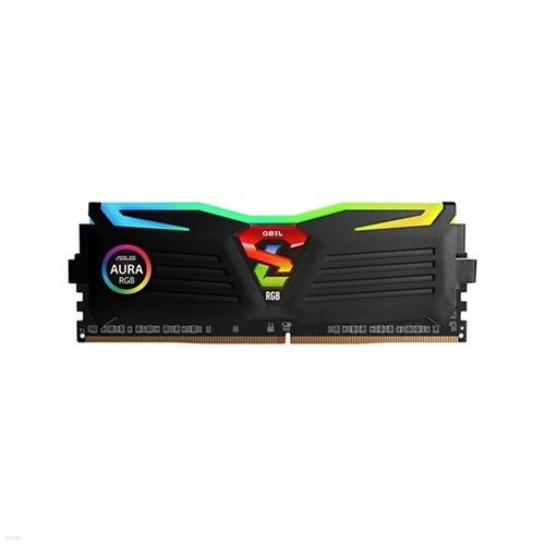 GeIL DDR4 16G PC4-25600 CL22 SUPER LUCE RGB Sync 블랙
