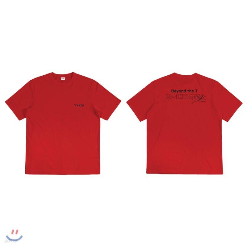 [U-KNOW] TVXQ! Beyond LIVE Beyond the T 티셔츠