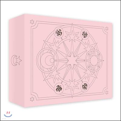카드캡터 체리 스티커 50장 세트 1(핑크케이스)