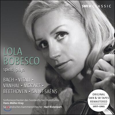 Lola Bobesco 모차르트 & 베토벤: 바이올린 협주곡 / 비탈리: 샤콘느 - 롤라 보베스코