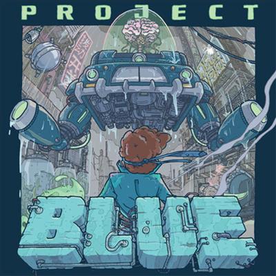 Toggle Switch - Project Blue (프로젝트 블루) (Blue Vinyl LP)(Soundtrack)