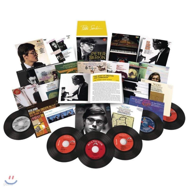 피터 제르킨 컬럼비아 & RCA 앨범 컬렉션 (Peter Serkin - The Complete RCA Album Collection)
