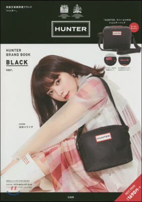 (예약도서) HUNTER BRAND BOOK BLACK ver.