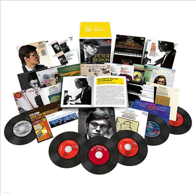 피터 제르킨 - RCA 앨범 컬렉션 (Peter Serkin - The Complete RCA Album Collection) (35CD Boxset) - Peter Serkin