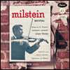 나단 밀스타인 리사이틀 (A Nathan Milstein Recital) [LP]
