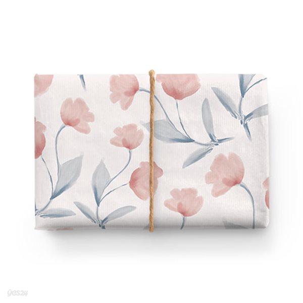 수채화 꽃 페이퍼 (2장)