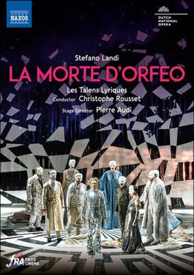 Christophe Rousset 스테파노 란디: 오페라 '오르페오의 죽음' (Stefano Landi: La morte d'Orfeo)