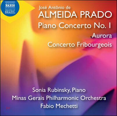 Sonia Rubinsky 알메이다 프라도: 피아노와 오케스트라를 위한 작품집