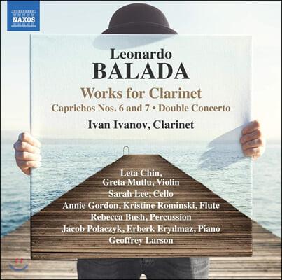 Ivan Ivanov 레오나르도 발라다: 클라리넷 작품집 (Leonardo Balada: Works for Clarinet)