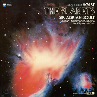 Adrian Boult 홀스트: 혹성 - 아드리안 볼트 (Holst: The Planets Op.32) [LP]