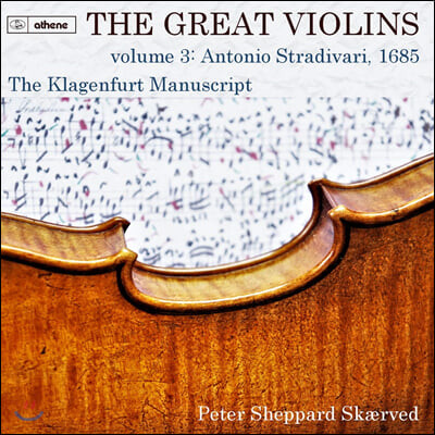 Peter Sheppard Skaerved 클라겐푸르트 필사본 (The Klagenfurt Manuscript)