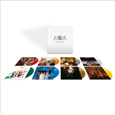 Abba - ABBA - The Vinyl Collection (Ltd)(Remastered)(180g Colored 8LP)(Box Set)