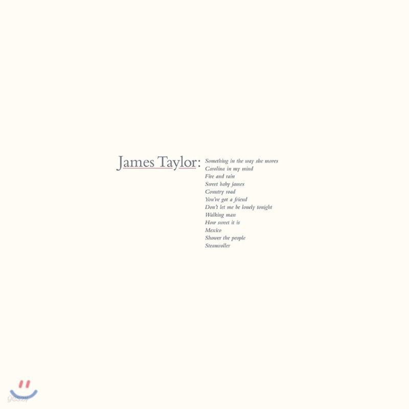 James Taylor (제임스 타일러) - James Taylor's Greatest Hits [LP]