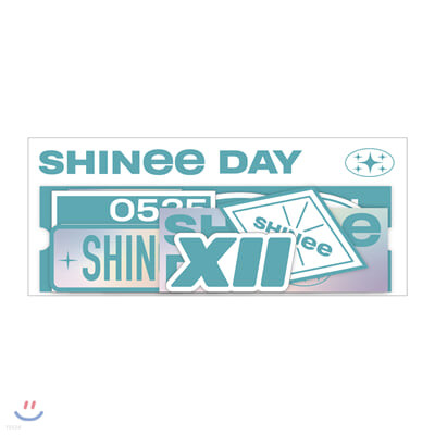 러기지스티커 SET_SHINee DEBUT 12th ANNIVERSARY