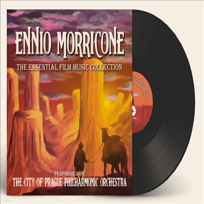 City Of Prague Philharmonic Orchestra - Ennio Morricone: Essential Film Music Collection (엔니오 모리꼬네 : 에센셜) (Ltd)(Soundtrack)(140g 2LP)