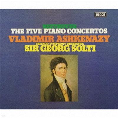베토벤: 피아노 협주곡 1-5번, 피아노 소나타 29 (Beethoven: Piano Concerto No.1-5, Piano Sonata No.29) (Ltd. Ed)(Single Sayer)(3SHM-SACD Boxset)(일본반) - Vladimir Ashkenazy
