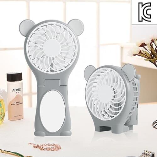 곰곰이 USB 거울 핸디선풍기 / 미니 탁상용 선풍기