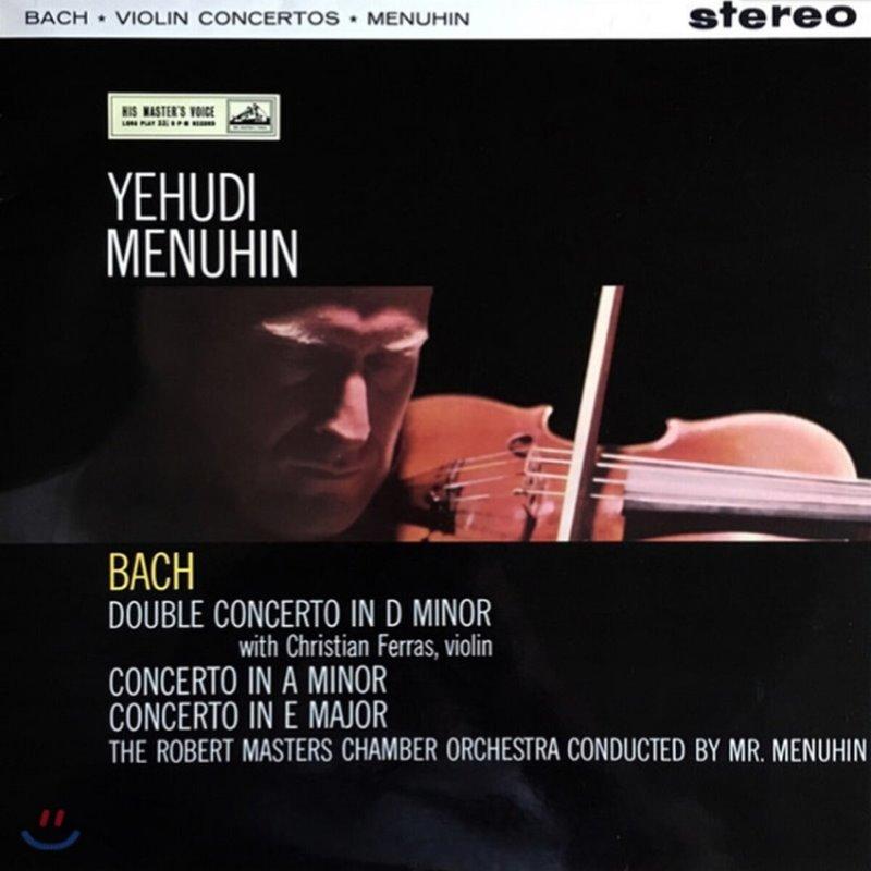 Yehudi Menuhin 바흐: 바이올린 협주곡, 이중 협주곡 (Bach: Violin Concertos BWV1041, 1042, Double Concerto) [LP]