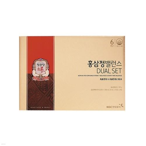 ★쇼핑백증정★[정관장] 홍삼정밸런스 듀얼세트 x 2ea