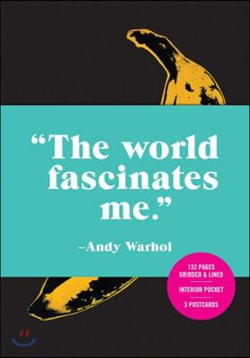 Andy Warhol Banana Journal with Postcard Set : 앤디워홀 노트, 엽서 세트