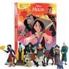 Disney Mulan My Busy Book 디즈니 비지북 뮬란 피규어 책