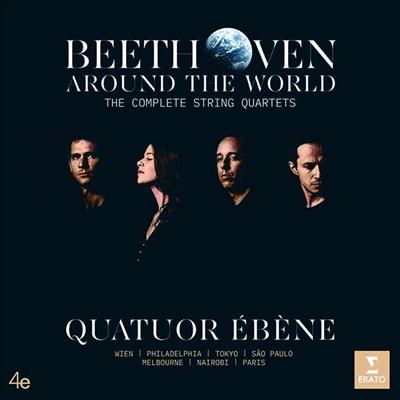 베토벤: 현악 사중주 전집 (Beethoven: The Complete String Quartets Nos.1 - 16) (7CD Boxset) - Quatuor Ebene