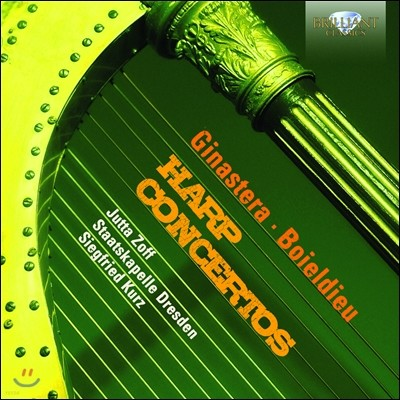 Jutta Zoff 하프 협주곡 - 히나스테라, 보이엘디외 (Ginastera / Boieldieu: Harp Concertos)