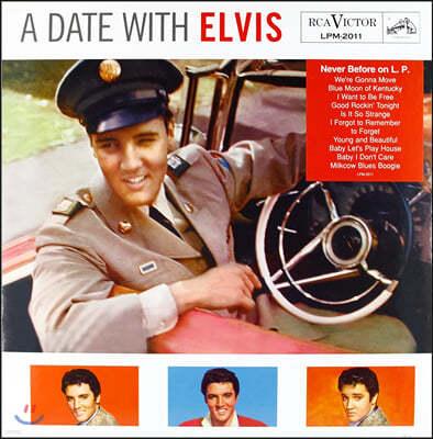 Elvis Presley (엘비스 프레슬리) - A Date With Elvis [LP]
