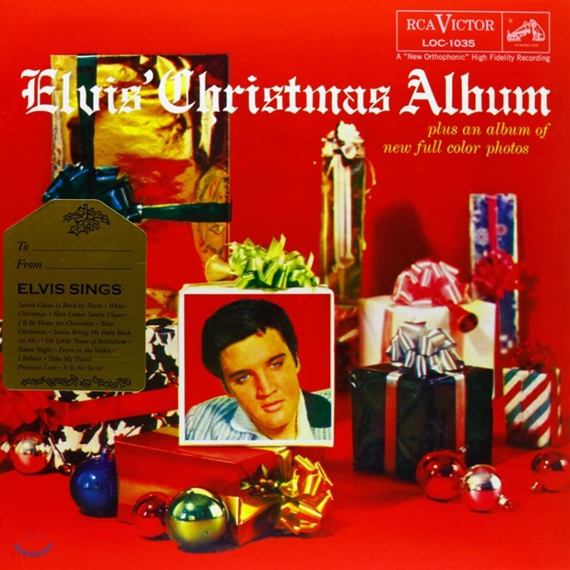 Elvis Presley (엘비스 프레슬리) - Elvis' Christmas Album [LP]