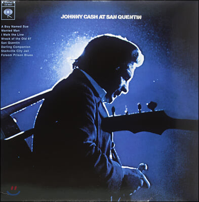 Johnny Cash (조니 캐시) - At San Quentin [LP]