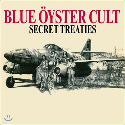 Blue Oyster Cult (블루 오이스터 컬트) - Secret Treaties [LP]