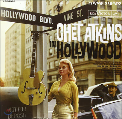Chet Atkins (챗 애킨스) - Chet Atkins In Hollywood [LP]