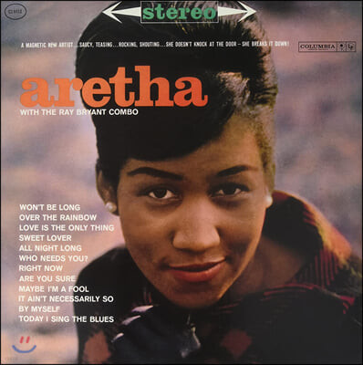 Aretha Franklin (아레사 프랭클린) - With The Ray Bryant Combo [LP]