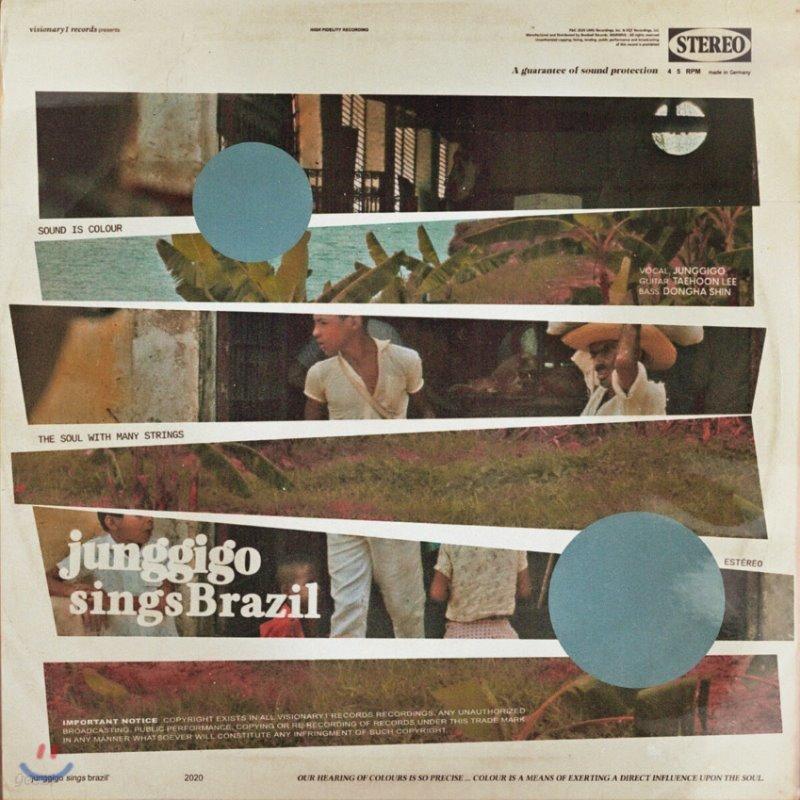 정기고 트리오 - Junggigo Sings Brazil [LP]
