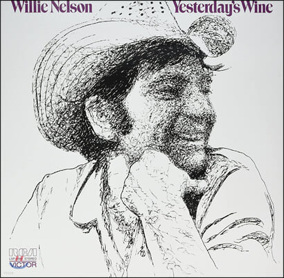Willie Nelson (윌리 넬슨) - Yesterday's Wine [LP]