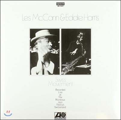Les McCann & Eddie Harris (레스 맥켄, 에디 해리스) - Swiss Movement [LP]