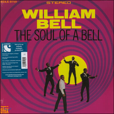 William Bell (윌리엄 벨) - The Soul Of A Bell [LP]
