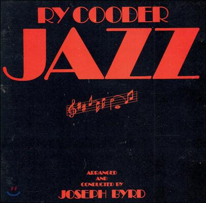 Ry Cooder (라이 쿠더) - Jazz [LP]