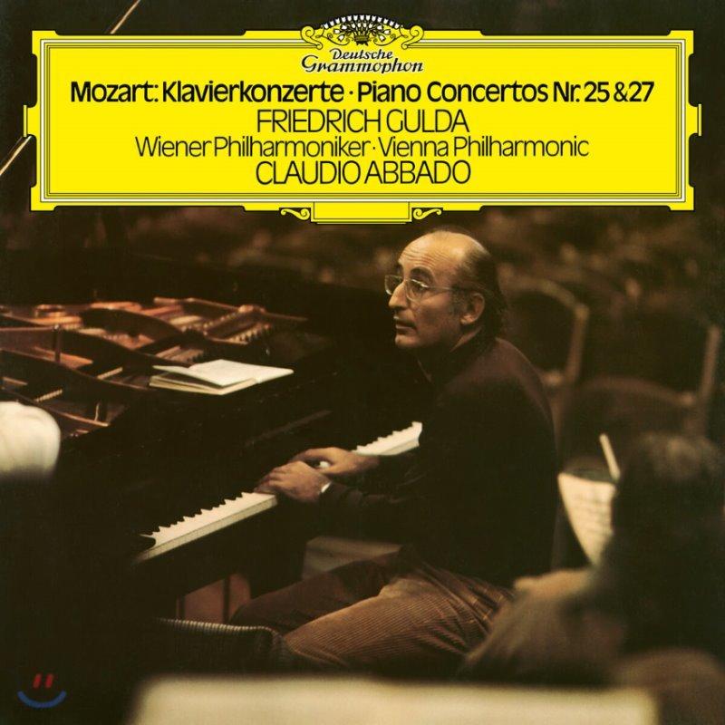 Friedrich Gulda / Claudio Abbado 모차르트: 피아노 협주곡 25, 27번 (Mozart: Piano Concertos K503, 595) [2LP]