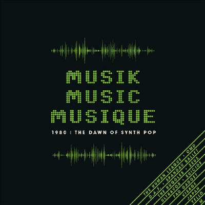 Various Artists - Musik Music Musique-1980: Dawn Of Synth Pop (3CD)