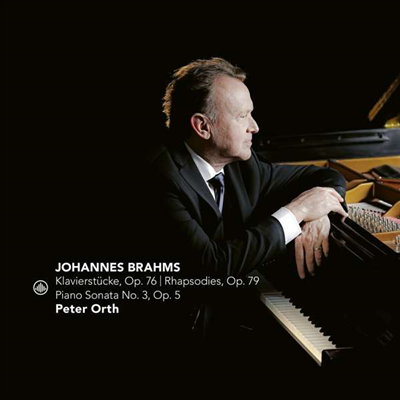 브람스: 피아노 소나타 3번 & 광시곡 (Brahms: Piano Sonata No.3 & Rhapsodies) - Peter Orth