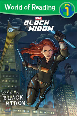 World of Reading Level 1 : This Is Black Widow