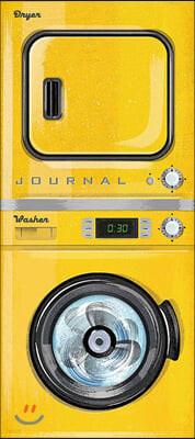 Vintage Washer/Dryer Journal : 빈티지 세탁기/ 건조기 커버 유선 노트