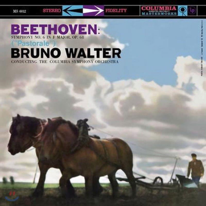 Bruno Walter 베토벤: 교향곡 6번 '전원' - 브루노 발터 (Beethoven: Symphony Op.68 `Pastoral`) [LP]
