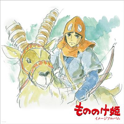 Hisaishi Joe (히사이시 조) - もののけ姬 (원령공주, Princess Mononoke) (Image Album) (LP) (Soundtrack)